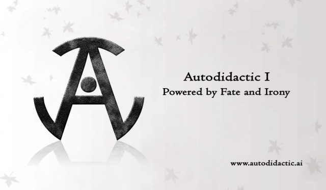 Autodidactic I Card and Logo
