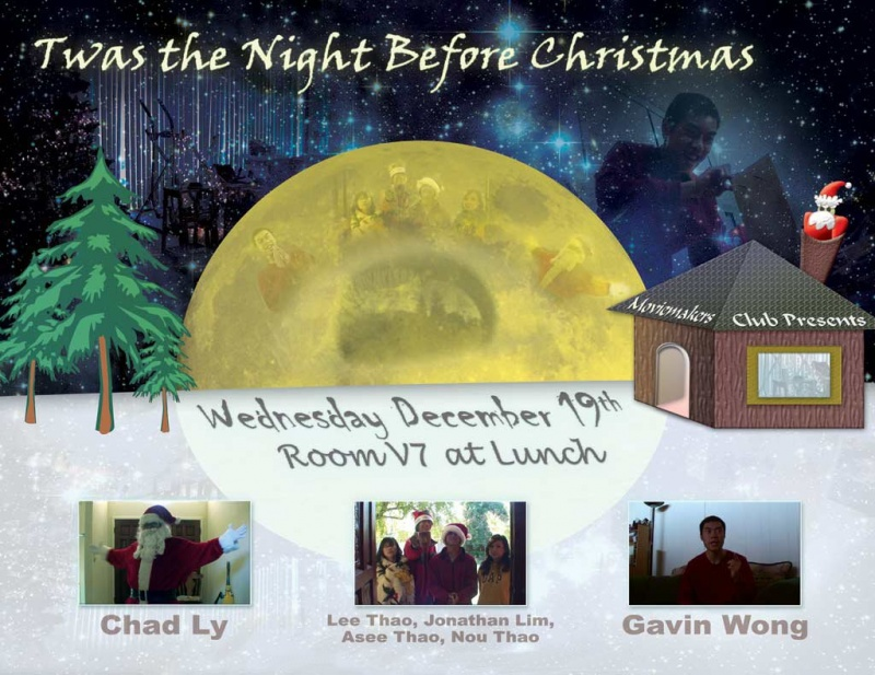 Twas the Night Before Xmas Movie Poster