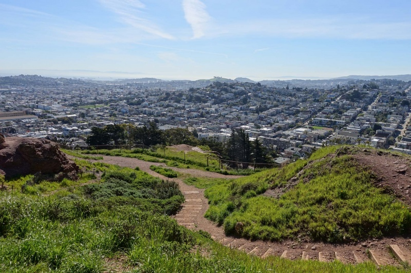 Corona Heights Peak