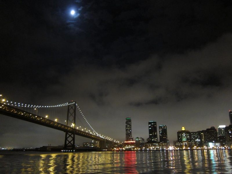 SF Bay and Blue Moon